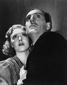 Basil Rathbone and Josephine Hutchinson in Son of Frankenstein 1939