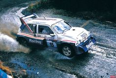 """birdsean: """"This was the last time the and any Group B rally car would compete in the WRC. Here is Jimmy McRae driving the car to place on the RAC Rally in November """" Lancia Delta S4, Rallye Automobile, Off Road Racing, Rally Car, Car And Driver, Car Humor, Antibes, Fast Cars, Peugeot"""