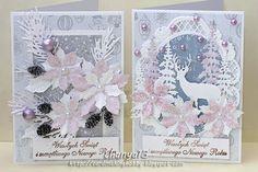 Cardmaking blog: Pastelowe święta.