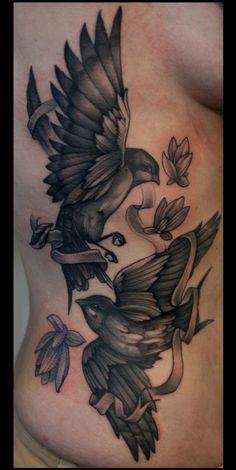 Mitch Allenden Birds Tattoo