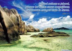 Postal Cristiana con un hermoso paisaje y un mensaje acorde :)