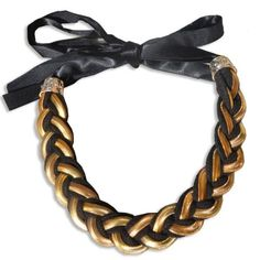 Via Mazzini Two-Tone Woven Collar Necklace Via Mazzini http://www.amazon.in/dp/B00EDG244W/ref=cm_sw_r_pi_dp_wm6Svb1EJPNMN