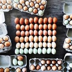 Or how many varieties there are in something as simple as an egg. | An Instagram User Is Making Beautiful Rainbows Out Of Food