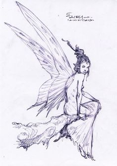The Fairy Sketch Books of Iain McCaig: Endicott Studio for Mythic Arts