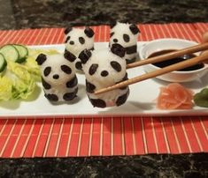 Gerissene-Sushi-Arten-körper-panda