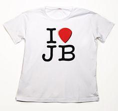 Bonamassa I heart JB Tee  www.jbonamassa.com  #jbonamassa