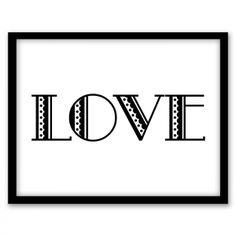 Love Scallop Wall Art