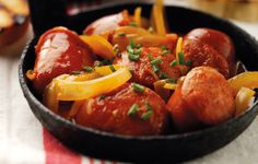 Hot Chorizo Cooked in Cider. #Spanish #Recipes