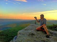 Are you ready to explore West Virginia in a whole new way? The remastered version of the West Virginia Explorer guide at WVExplorer.com will launch by the end of 2013, according to editor David Sibray, seen here atop Eagle Rock on Great North Mountain.