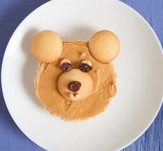 Make a Bear Snack: This kids treat is easy for kids to make and yummy for them to eat!