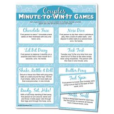 Couples go head-to-head in Valentine minute to win it game competition? Yes, please! #couples #games