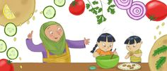 Are your kids bored with beige, bland food. Here's a great little story about a brother and sister who branch out into the world of exciting flavoursome foods!