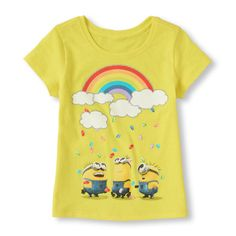 Minions of jelly beans on this Despicable Me tee!