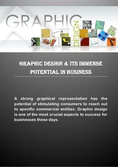 #GraphicDesign & Its Immense Potential in Business