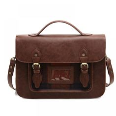 Vintage Style School Shoulder Bag  Price: 53.98 & FREE Shipping  #schoolbags