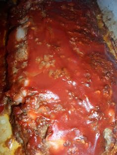 Skinny Sirloin Meatloaf!! so easy and yummy!!
