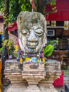Wat Chedlin im Zentrum von Chiangmai Mount Rushmore, Mountains, Nature, Life, Naturaleza, Nature Illustration, Off Grid, Bergen, Natural