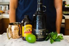 Make a citrusy Moscow Mule with Rum! This Caribbean twist on the classic cocktail is refreshing with spiced rum, ginger beer and lime. Vodka Cocktails, Easy Cocktails, Refreshing Cocktails, Classic Cocktails, Summer Drinks, Cocktail Recipes, Easy Drinks To Make, Easy Mixed Drinks, Moscow Mule With Rum