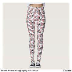 British Women's Leggings #Leggings #Yoga #Pants #Activewear #Sports #Sportswear #Athletic #Fashion #Design #London #England #British #Britain