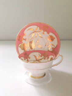 Antique Royal Grafton Fine Bone China Tea Cup by MariasFarmhouse