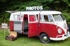 VW bus photo booth - Stowe Today: Getting Married In Vermont