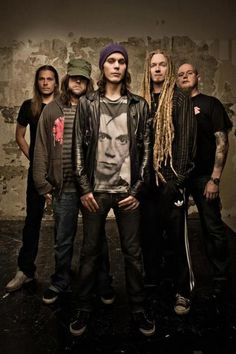 Ville Valo and Band Tumblr