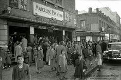 El desaparecido Cine Bellas Vistas en la calle de Francos Rodriguez, 33 en 1955.