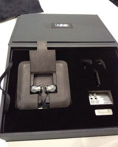 tiny Austrian AKG K3003 universally fitting earbud headphones