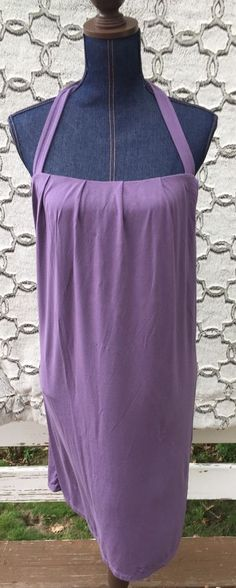 Victoria's Secret Bra Tops Halter Strapless Sun Summer Dress Purple Size Medium #VictoriasSecret #Sexy #Casual