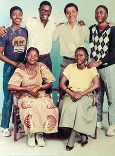 obama looking good with family