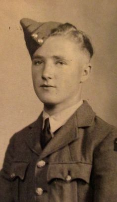 Pvt. Bill  Cross at 17 shortly after graduating from British Royal Air Force boot camp in 1940. He now lives with his wife, Gwen, in Holiday RV Park in Englewood. He is 93. Photo provided