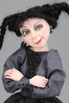 Belladonna - One-Of-A-Kind Doll by Tanya Abaimova. Characters Gallery