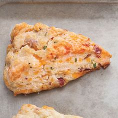 Bacon-Flavored Recipes  | Bacon, Cheddar, and Chive Scones | MyRecipes.com