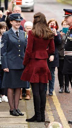 February 22 2017 Duchess wearing Paula Ka