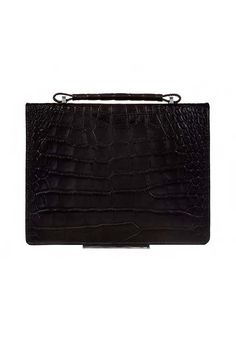 Bag 2T Black Crocodile MADE IN ITALY  Shop now on www.dezzy.it