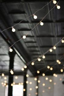 bulb string lighting-- want to do this in my classroom