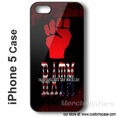 iPhone 5 Case Rage Against The Machine - Hard iPhone Cover Rage Against The Machine, Phone Cases, Iphone, Cover, Phone Case