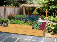 A treated timber raised vegetable planter arranged in 2 tiers. Vegetable Planters, Vegetable Bed, Garden Planters, Herb Garden, Raised Bed Kits, Raised Beds, Grow Your Own, How To Level Ground, Vegetable Garden