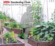"""Gardening Chair Offers Mobility for Aging Green Thumbs"" -- Click through to see some other mobility improvement products for the garden."