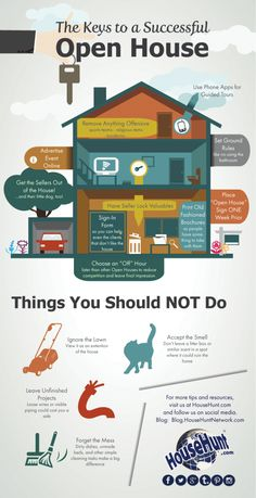Here are some tips for a successful open house in an easy-to-share infographic!
