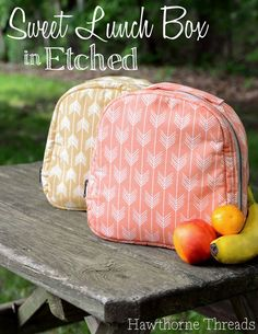 Free Lunch Box pattern - Hawthorne Threads More