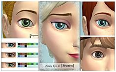 Disney eye 01 Frozen at YN Yeon via Sims 4 Updates