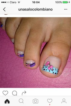 Cute Pedicures, Manicure And Pedicure, Pedicure Designs, Nail Designs, Teen Nails, Toe Nail Art, Fancy Nails, Diana, Mary