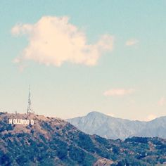 Hollywood, view from Runyon Canyon