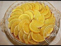 Recette de Tarte à l'orange/Orange Tart Recipe