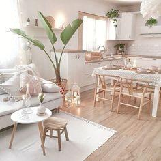 Minimalist Home Interior .Minimalist Home Interior Home Living Room, Living Room Designs, Living Room Decor, Living Room Inspiration, Home Decor Inspiration, Design Inspiration, Bohemian Kitchen, Style Deco, Home Decor Pictures