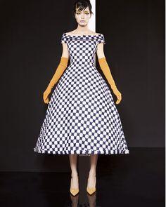 1950's inspired cocktail dress #leshabitudes #losangeles #womensfashion