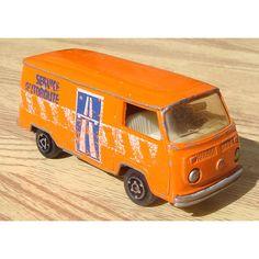 vintage MAJORETTE VW Volkswagen FOURGON camper van toy car. $10.00, via Etsy.