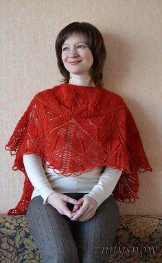 Free Pattern: Lilae Shawl