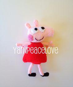Crochet Peppa Pig by YarnPeaceLove